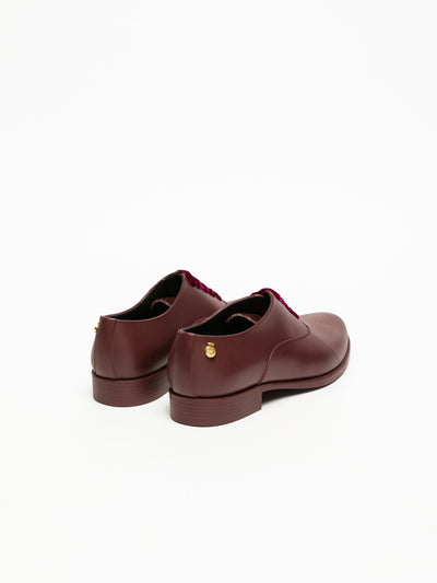 Lemon Jelly DarkRed Oxford Shoes