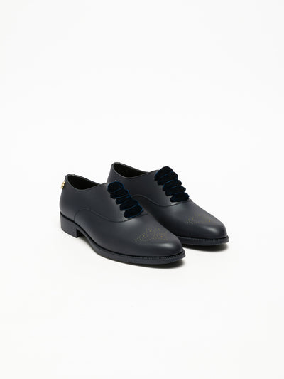 Lemon Jelly Blue Oxford Shoes