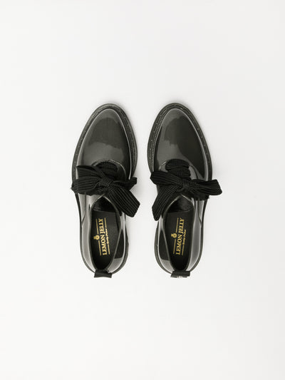 Lemon Jelly Gray Lace-up Shoes