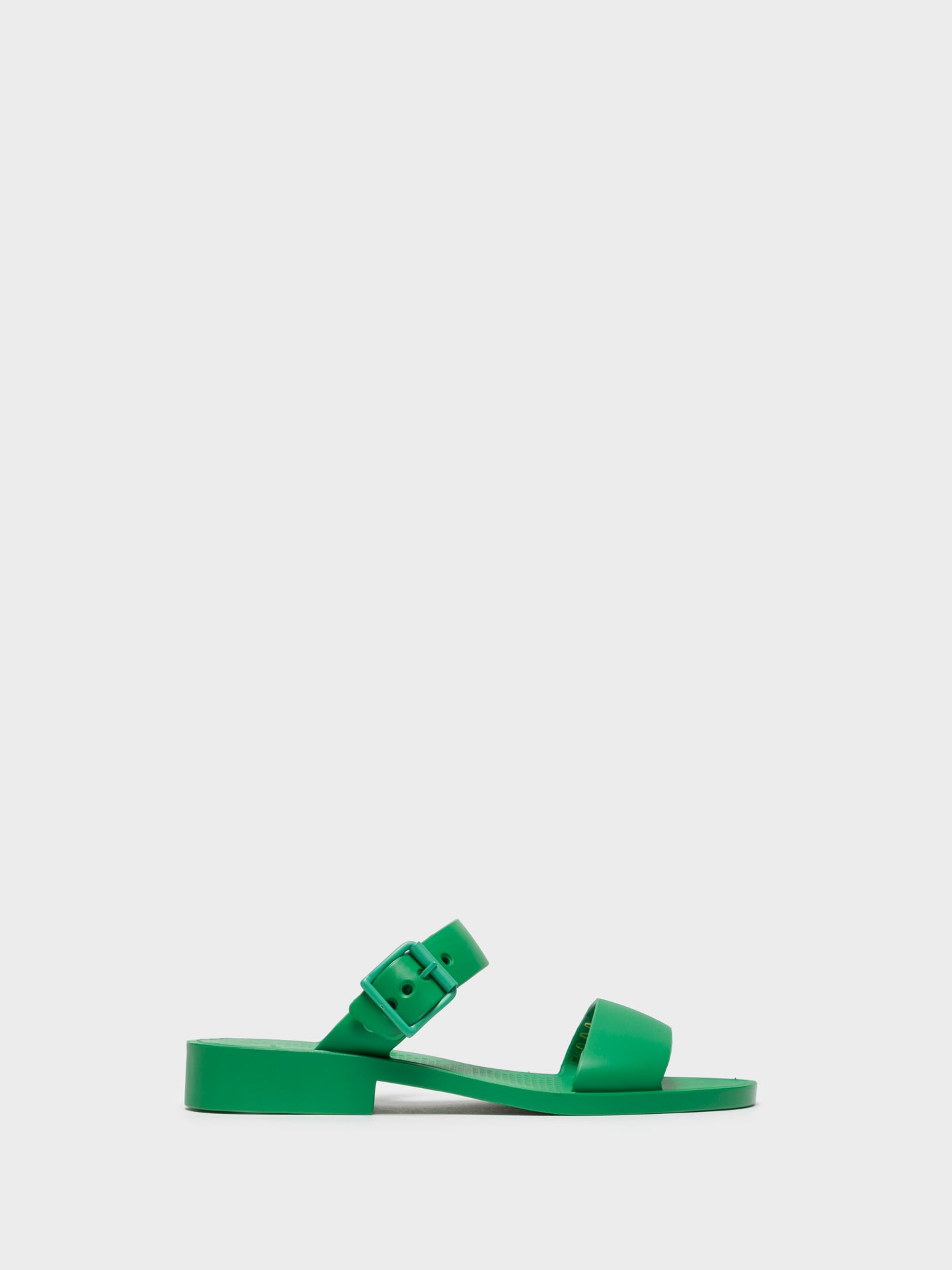 Lemon Jelly Green Open Toe Sandals