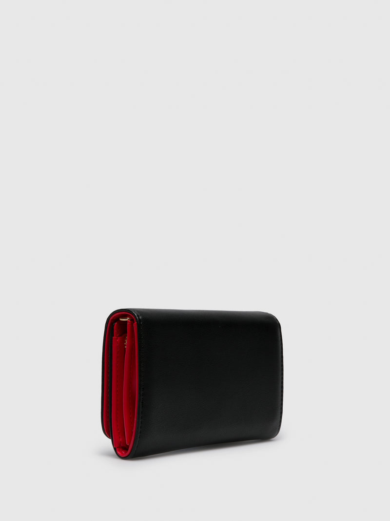 LOVE MOSCHINO Black Wallet