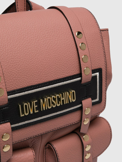 LOVE MOSCHINO Pink Backpack