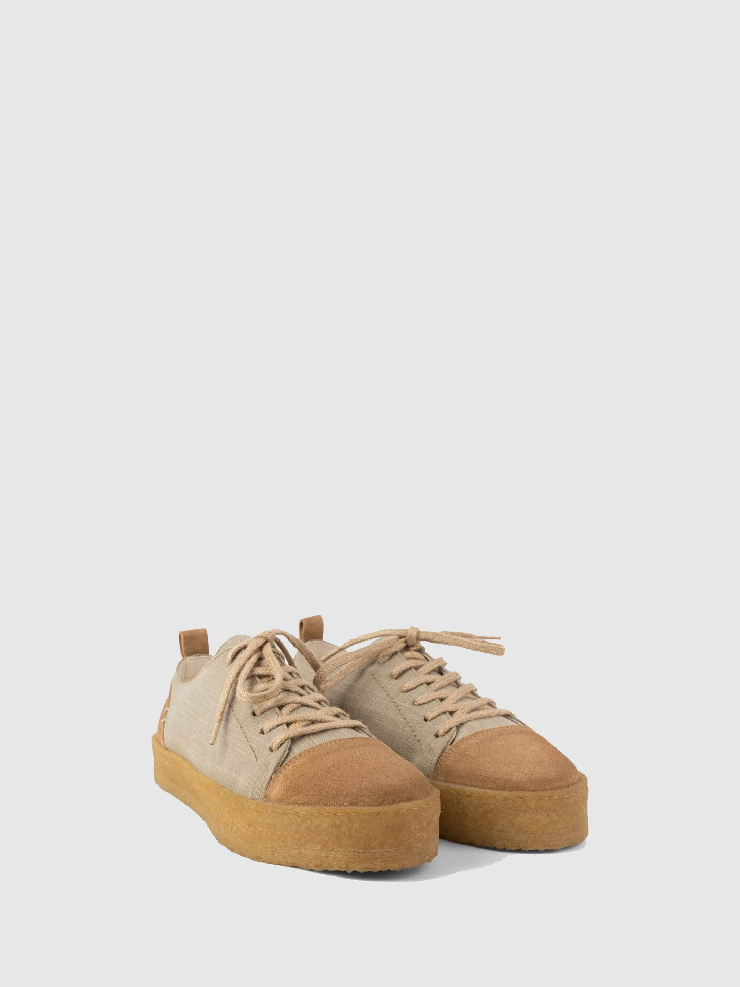 Lusquinos Cappuccino Lace-up Shoes