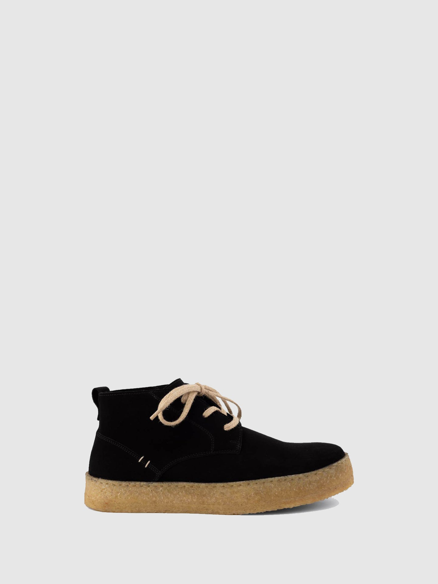 Lusquinos Black Lace-up Shoes