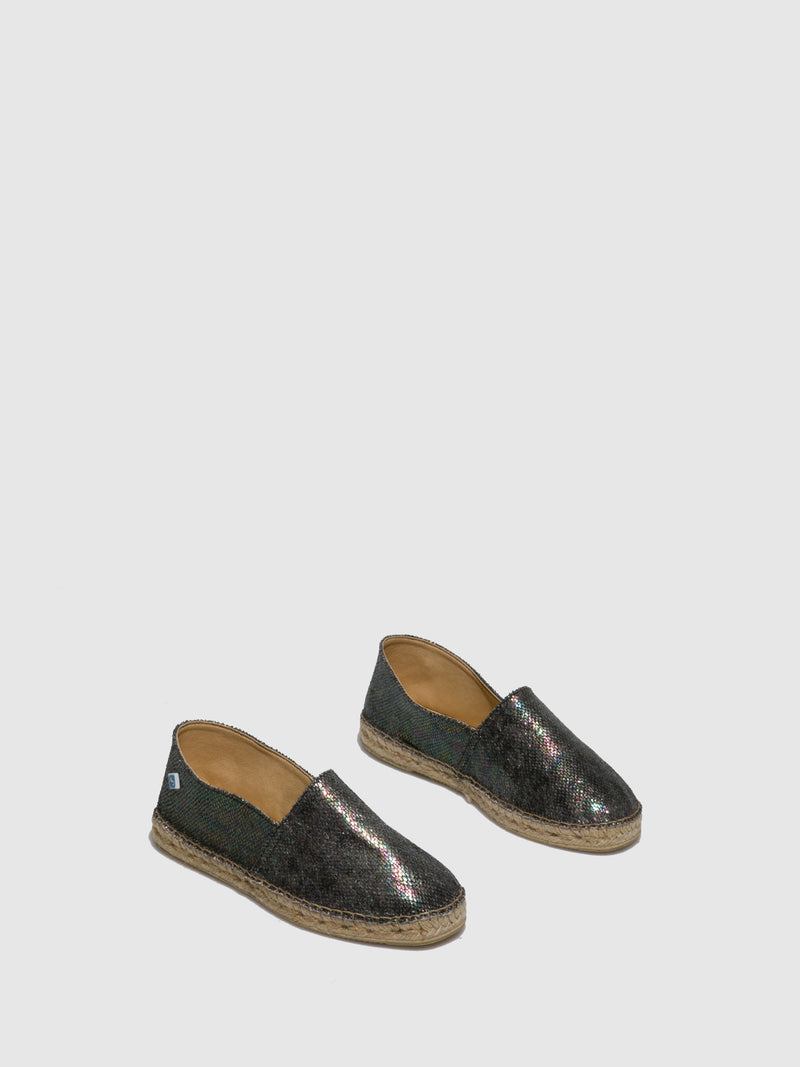 Black Slip-on Espadrilles