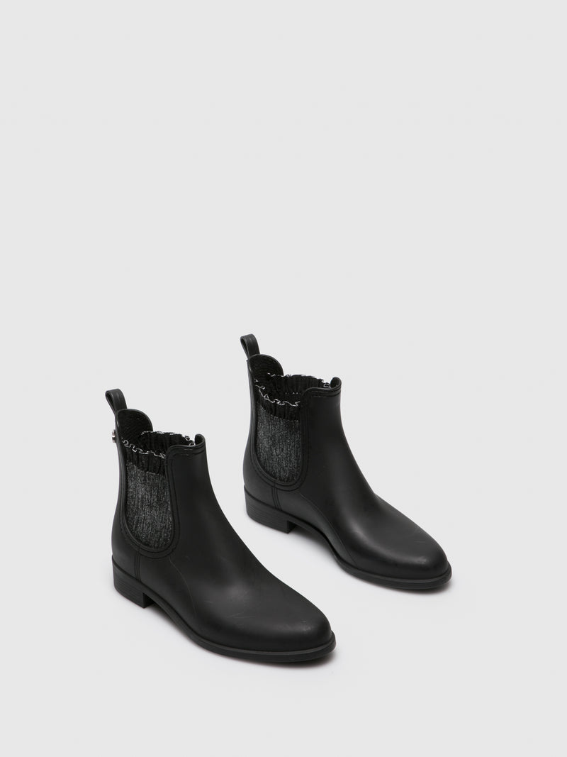 Black Chelsea Ankle Boots