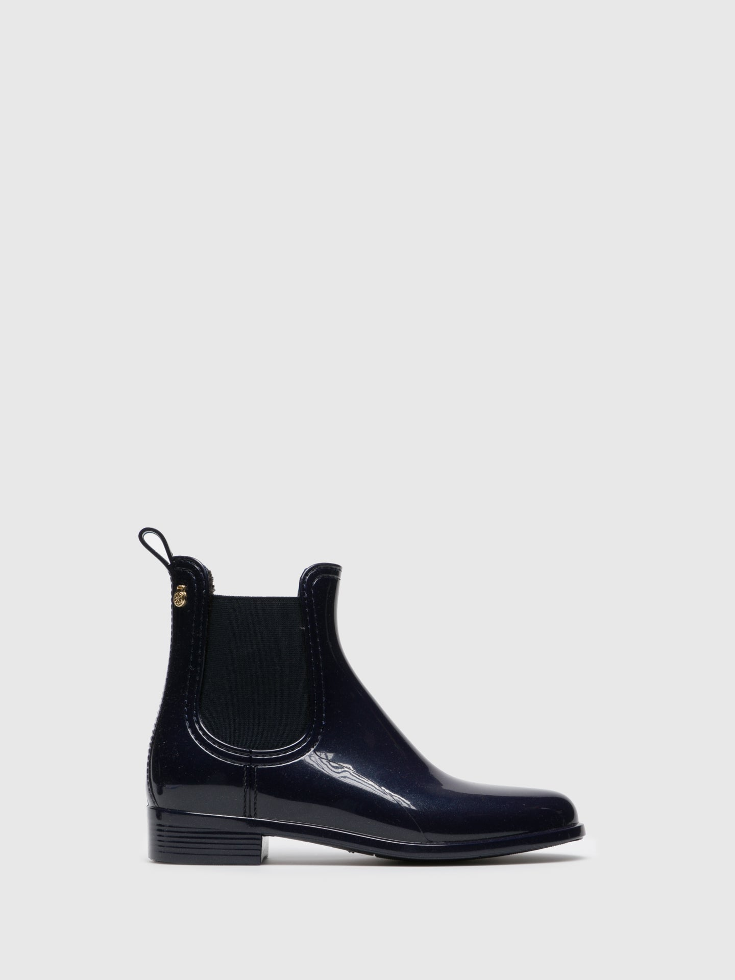 Lemon Jelly Blue Chelsea Ankle Boots