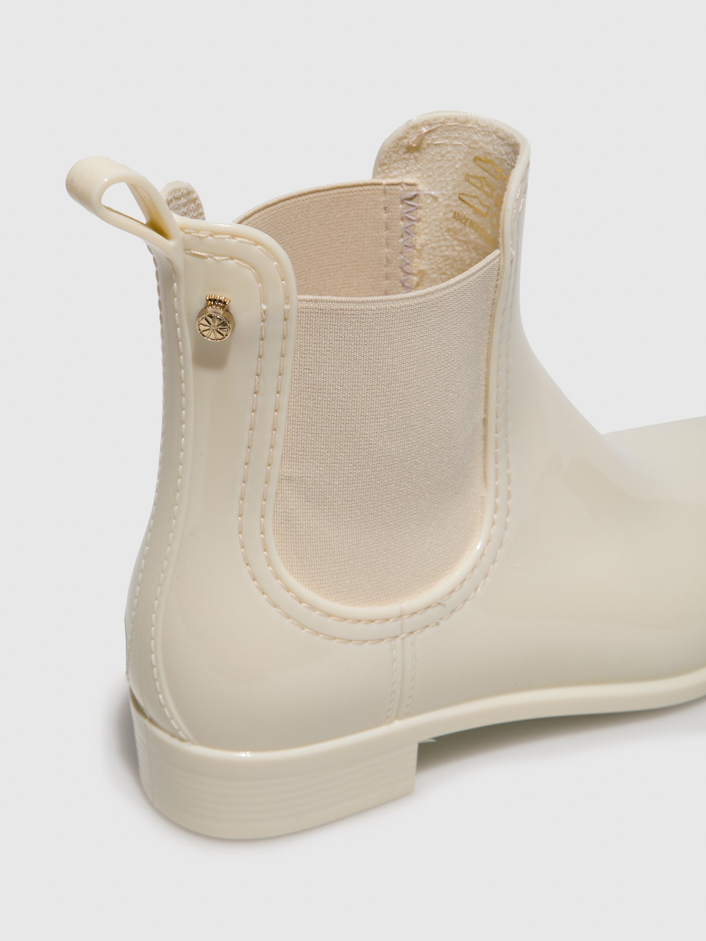 Beige Chelsea Ankle Boots - Overcube