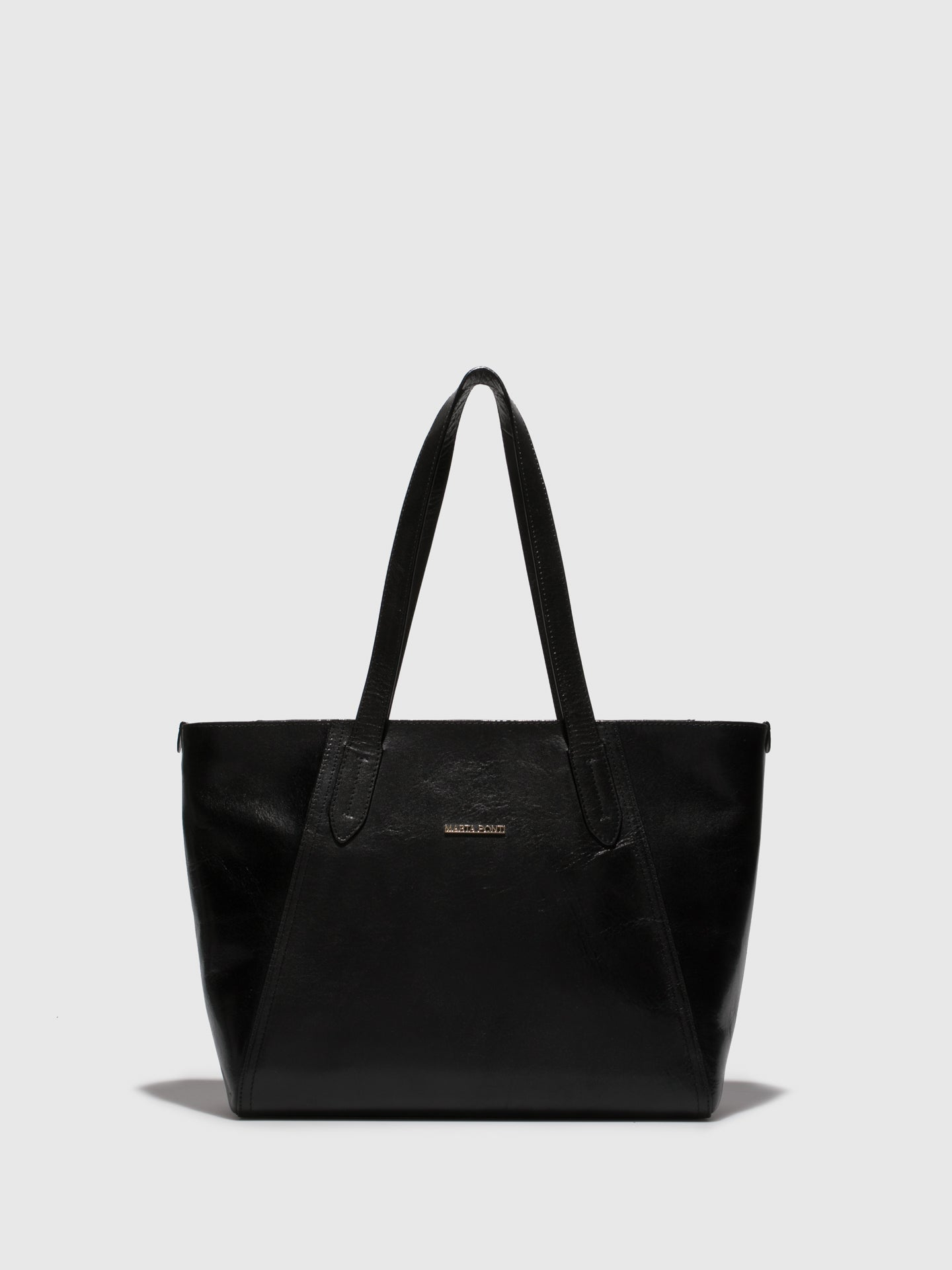 MARTA PONTI Black Shoulder Bag