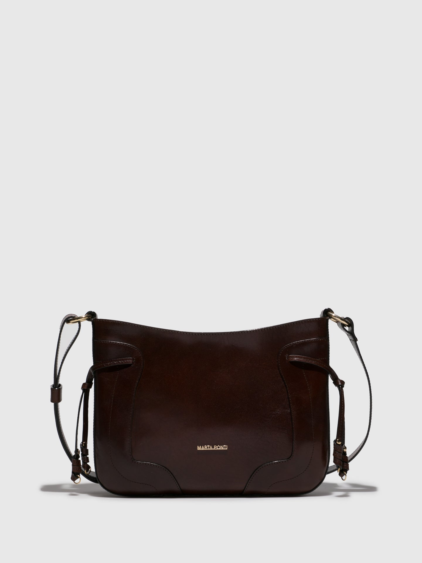 MARTA PONTI Chocolate Crossbody Bag