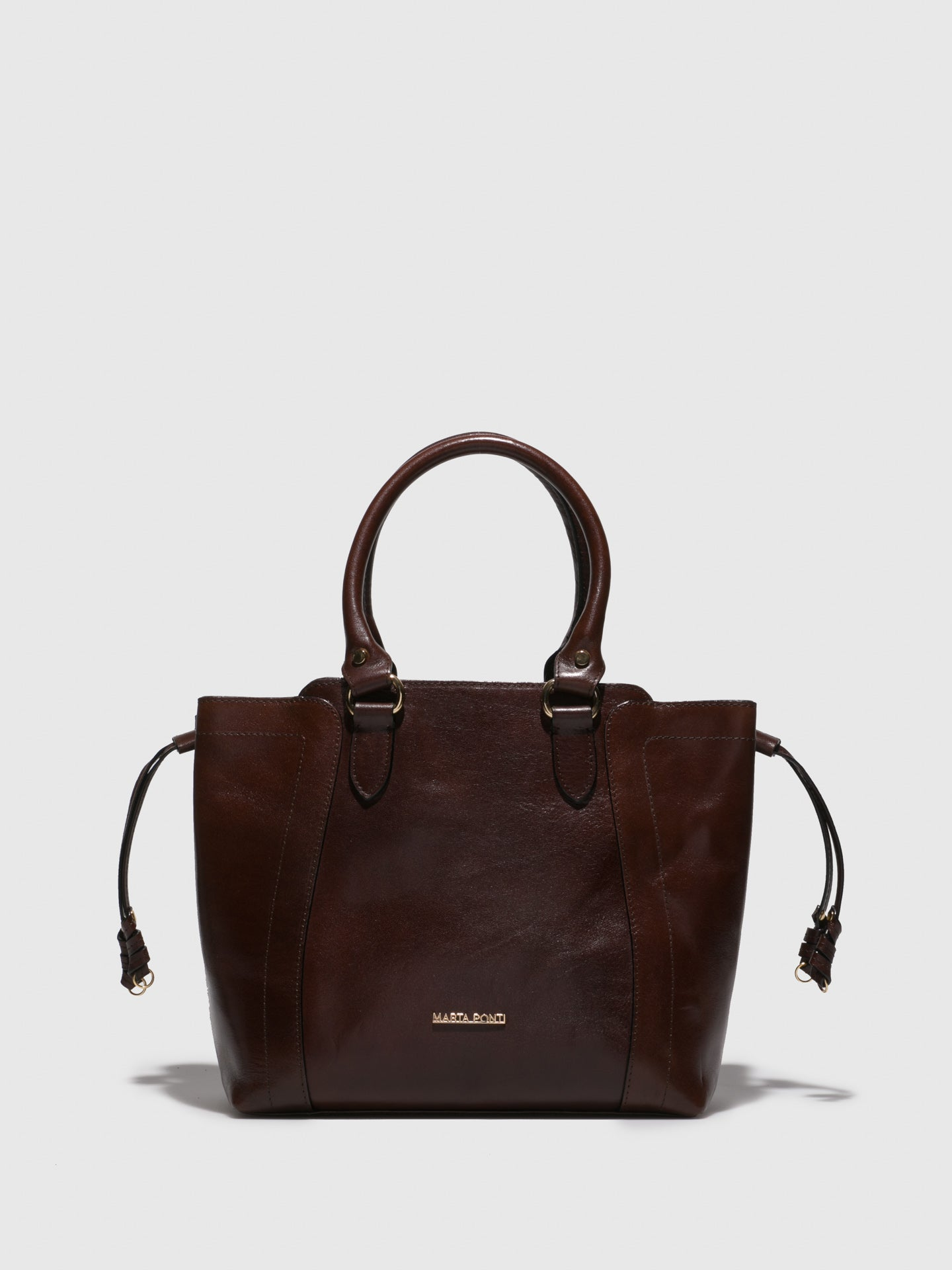 MARTA PONTI Chocolate Handbag