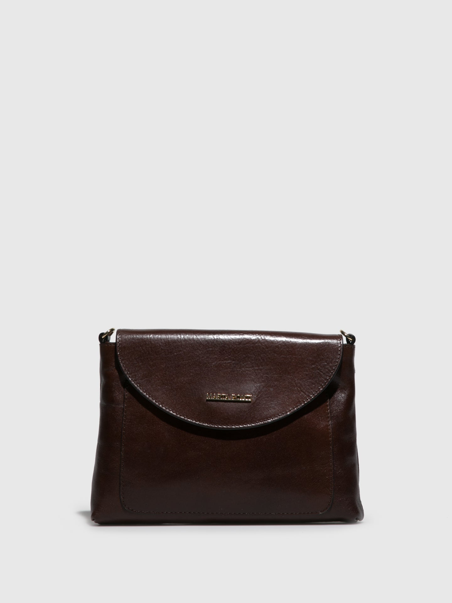 MARTA PONTI Brown Crossbody Bag