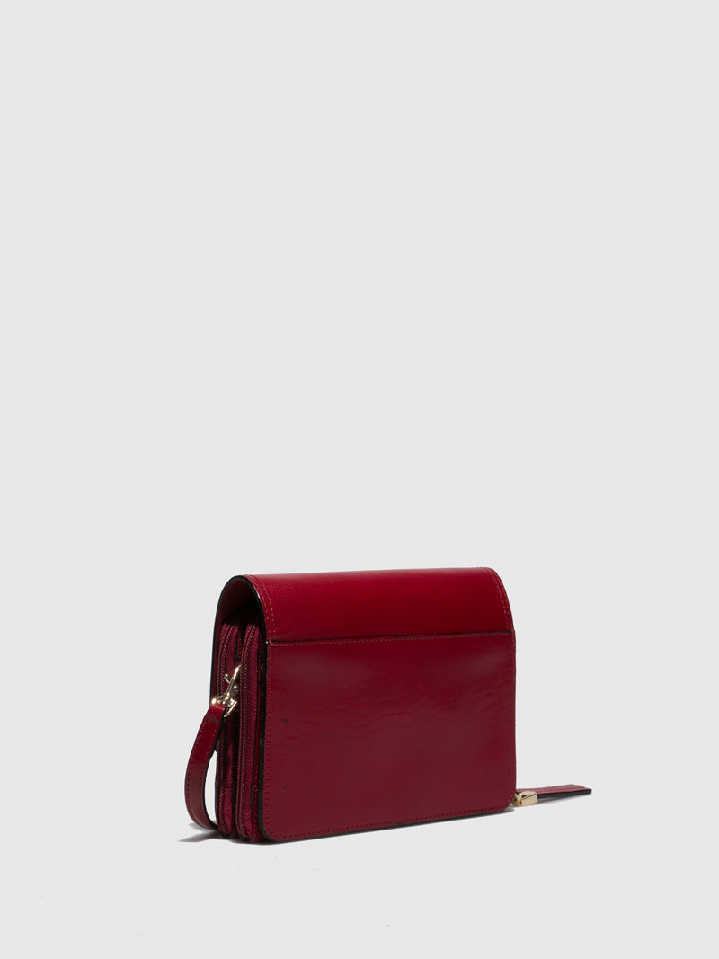MARTA PONTI Red Crossbody Bag