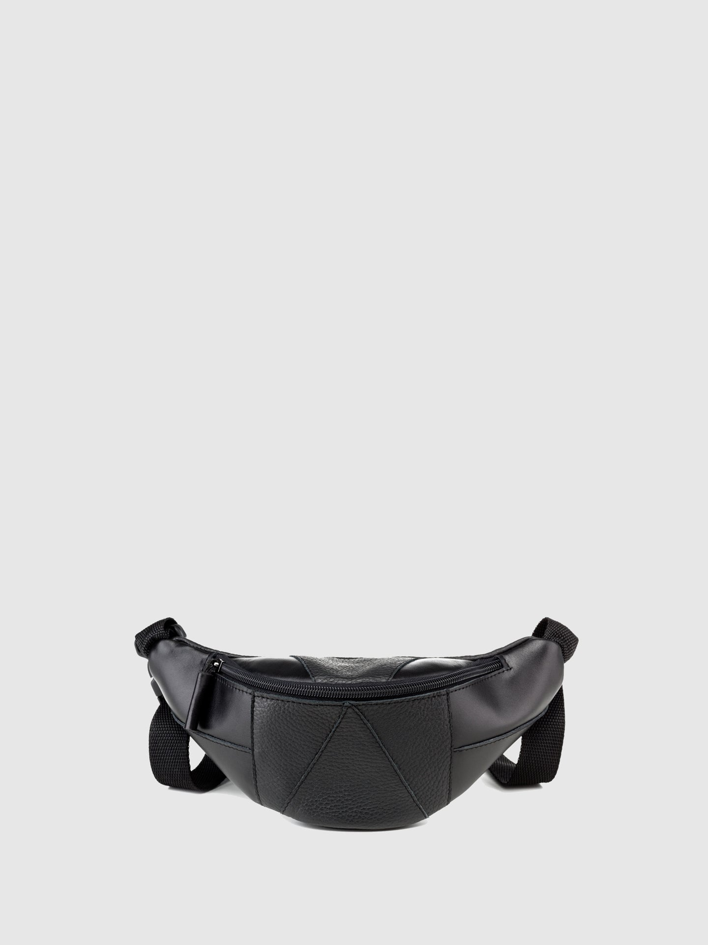 Maria Maleta Black Leather Bumbag