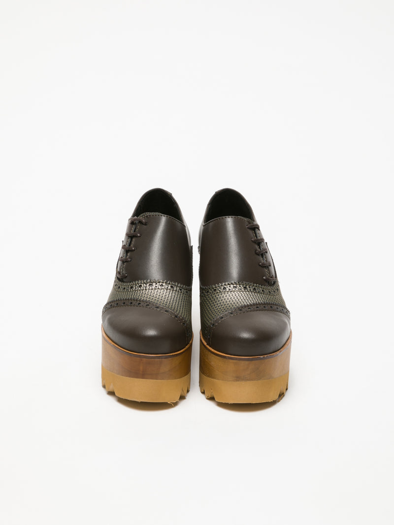 Brown Platform Shoes