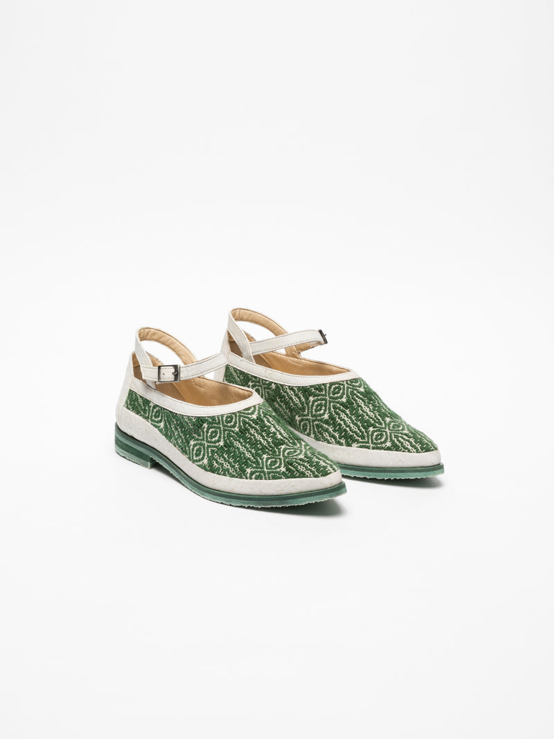 Green Flat Shoes