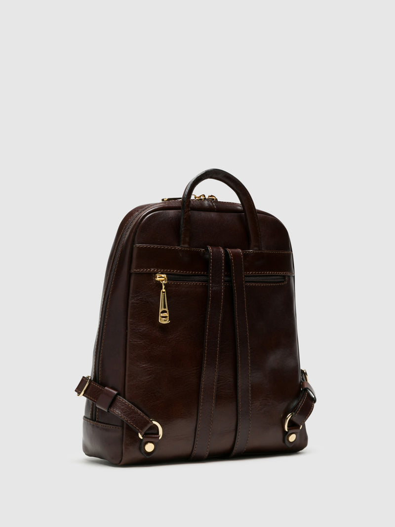 MARTA PONTI Brown Backpack