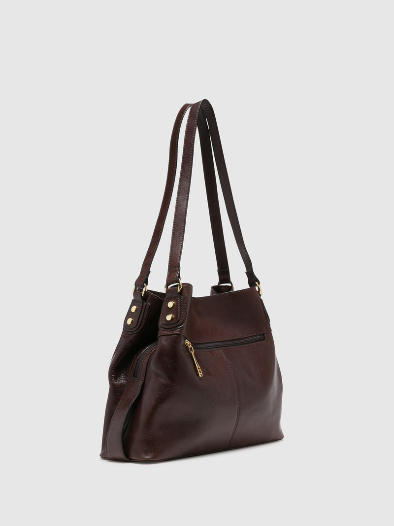 MARTA PONTI Brown Shoulder Bag