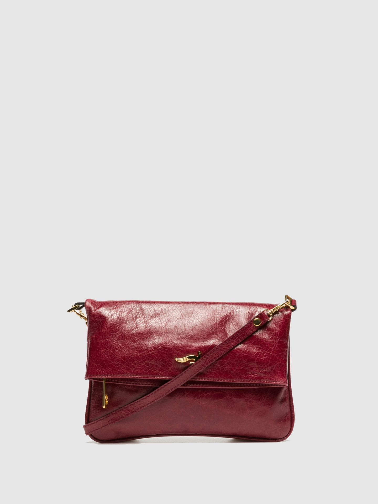 Marta Ponti DarkRed Clutch