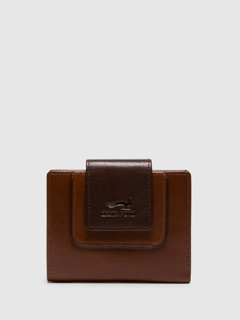 MARTA PONTI Chocolate Brown Wallet
