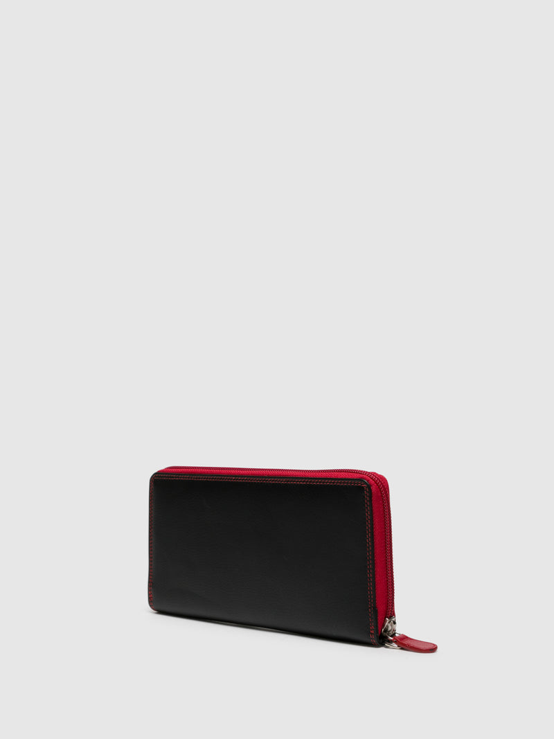 MARTA PONTI Red Black Wallet