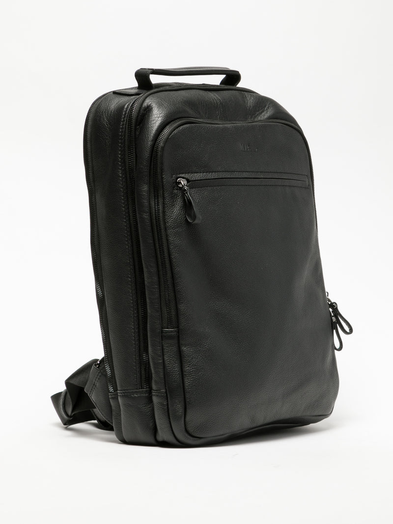 MARTA PONTI Black Backpack