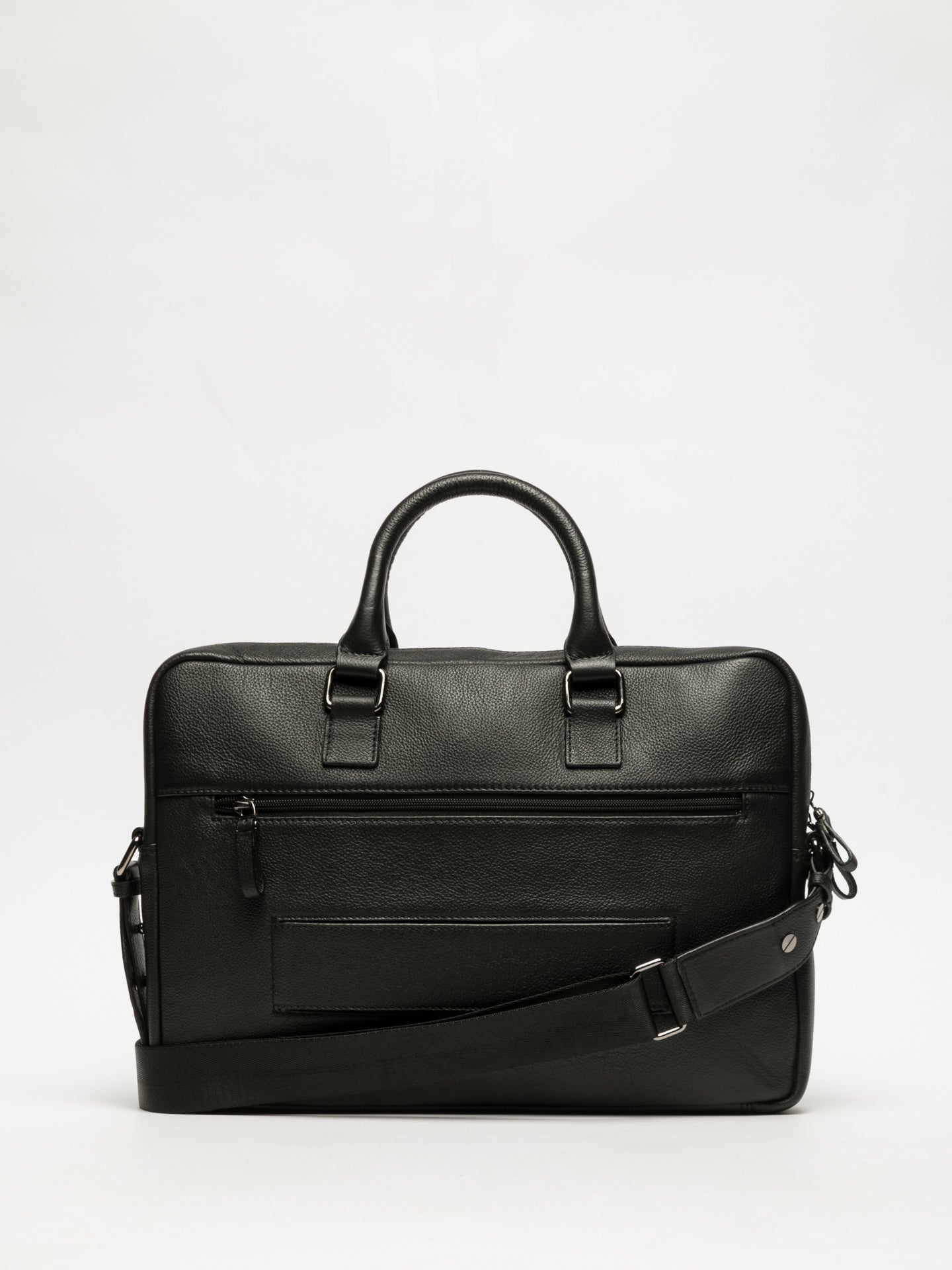 MARTA PONTI Black Laptop Bag