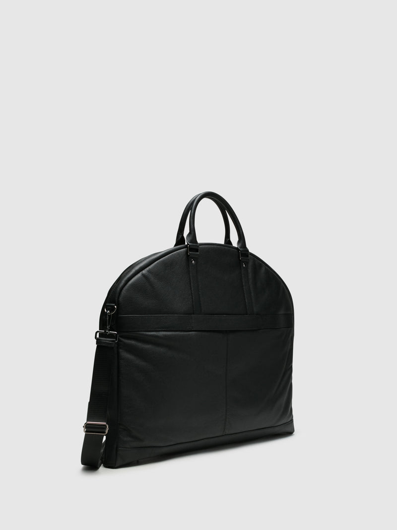 MARTA PONTI Black Tote Bag
