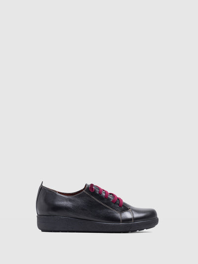 MARILA SHOES Black Lace-up Shoes