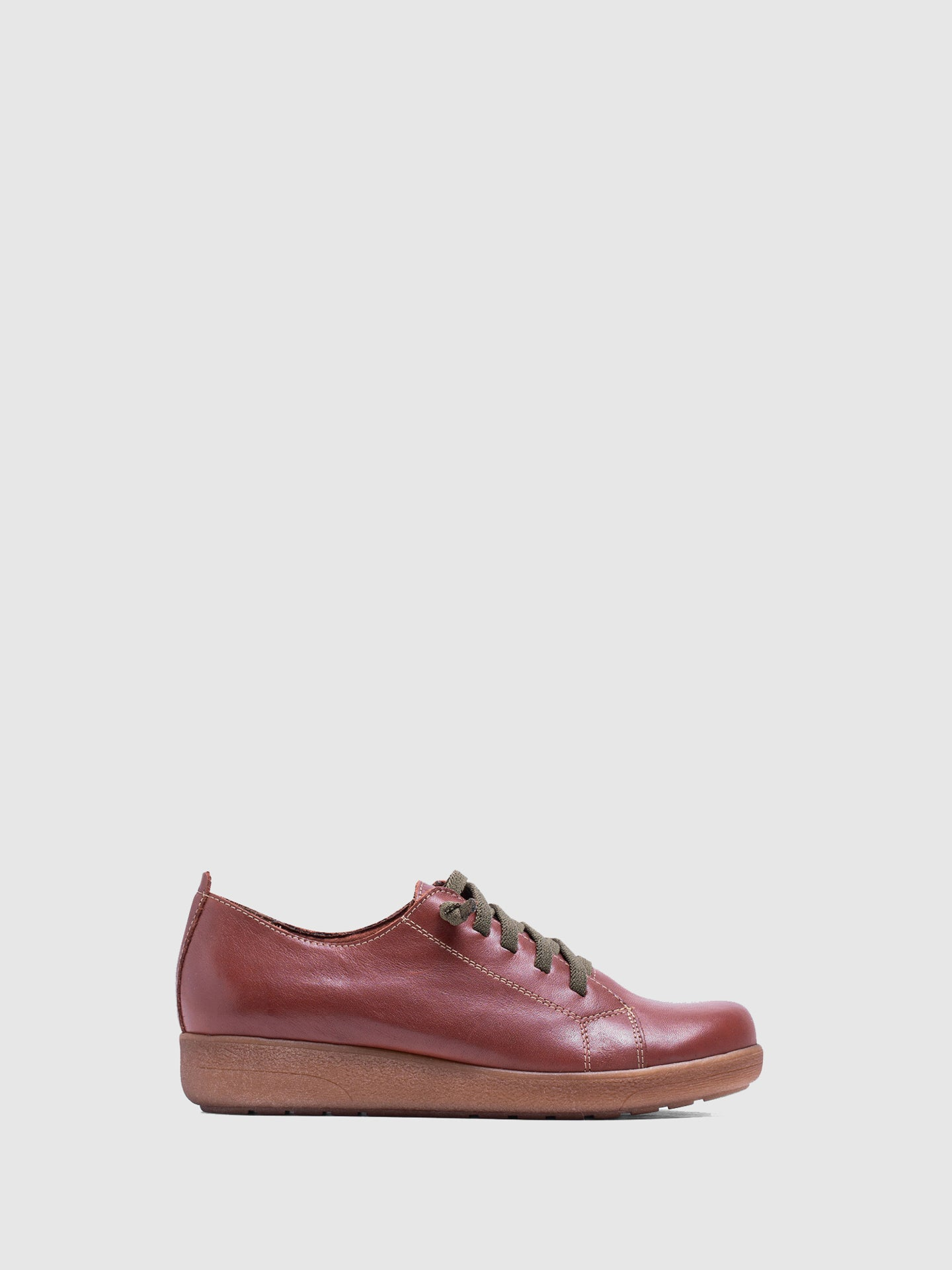 MARILA SHOES Brown Leather Lace-up Shoes