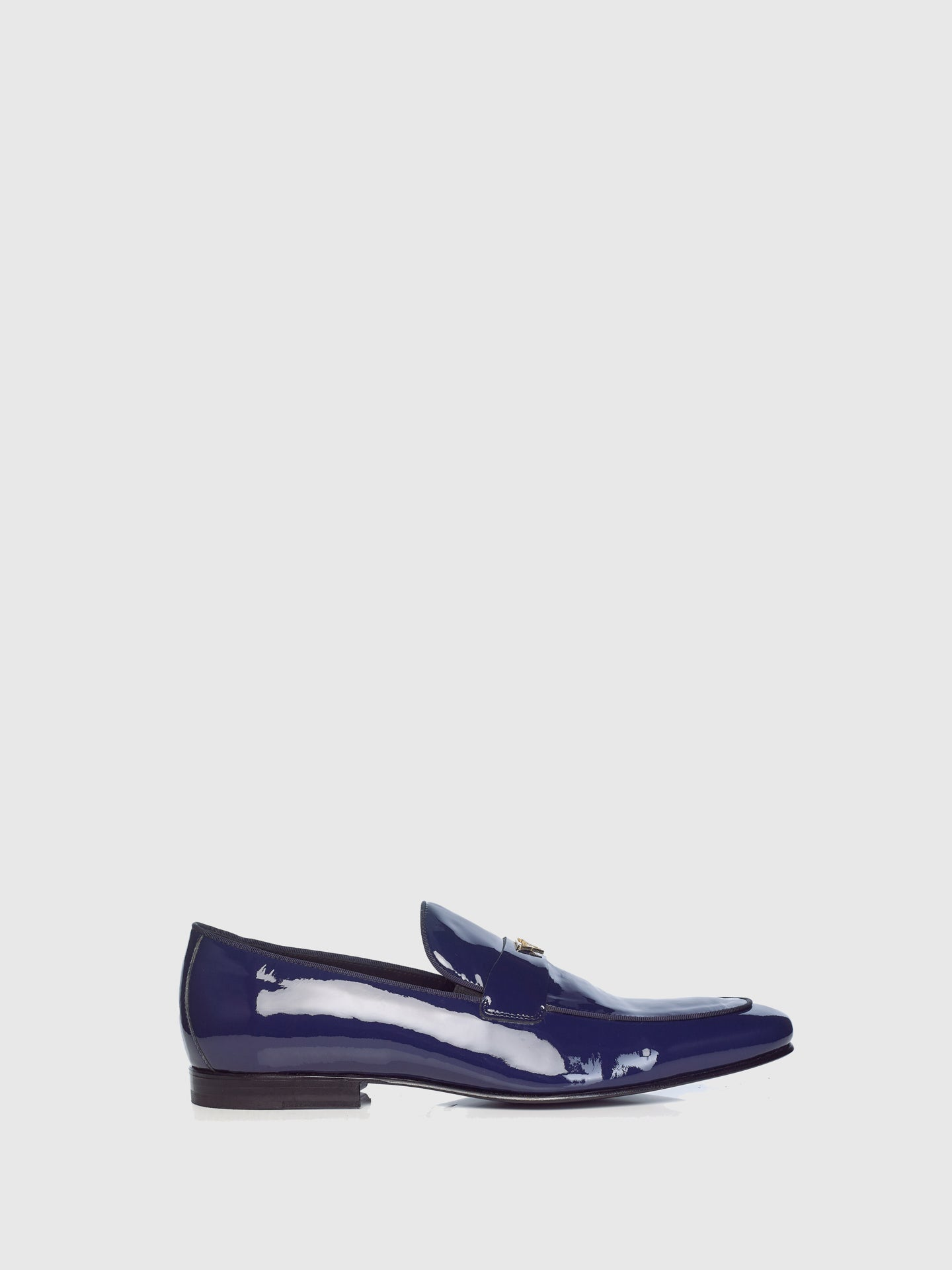 Miguel Vieira Navy Loafers Shoes