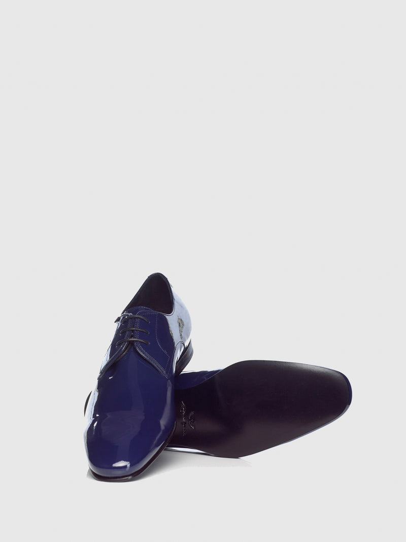 Miguel Vieira Navy Derby Shoes