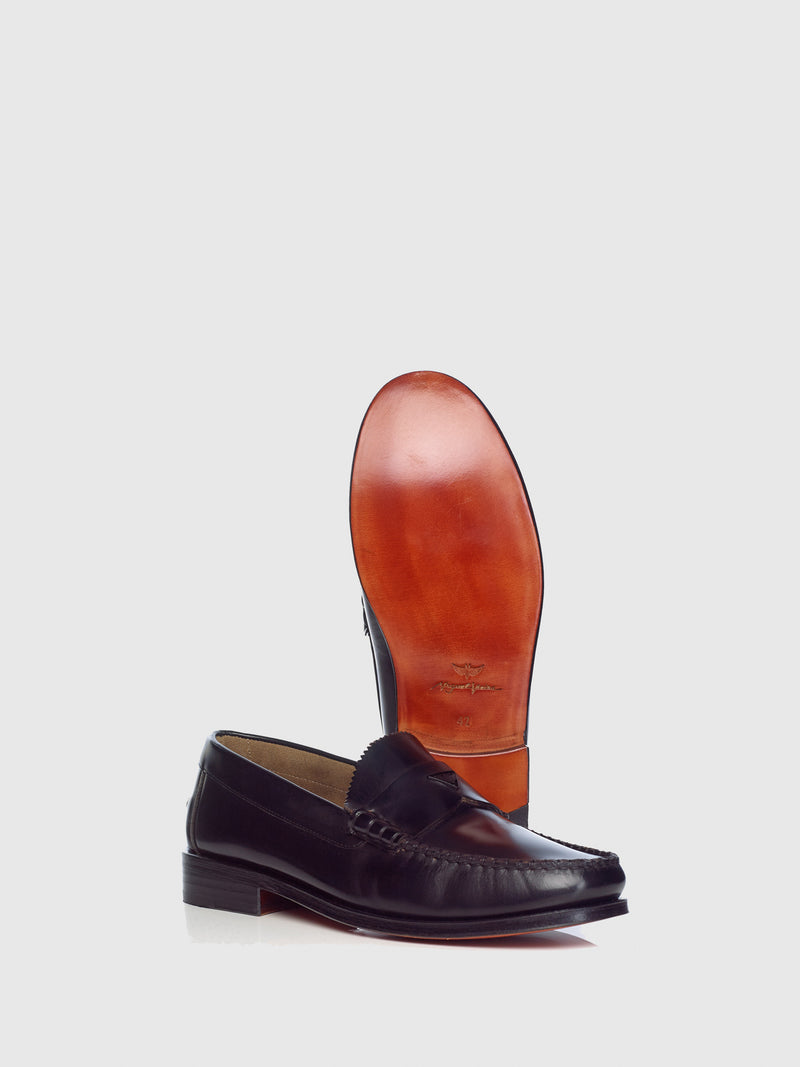 Miguel Vieira Black Loafers Shoes