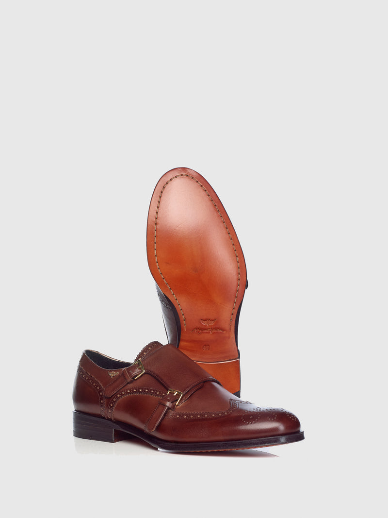 Miguel Vieira Brown Oxford Brogue Shoes