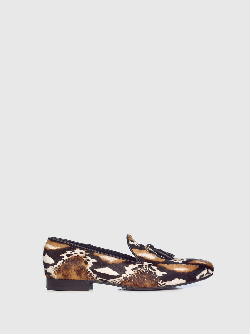 Miguel Vieira Multicolor Tassel Loafers