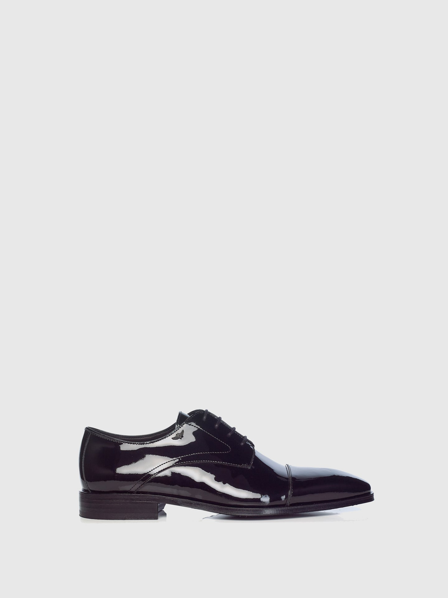 Miguel Vieira Black Derby Shoes