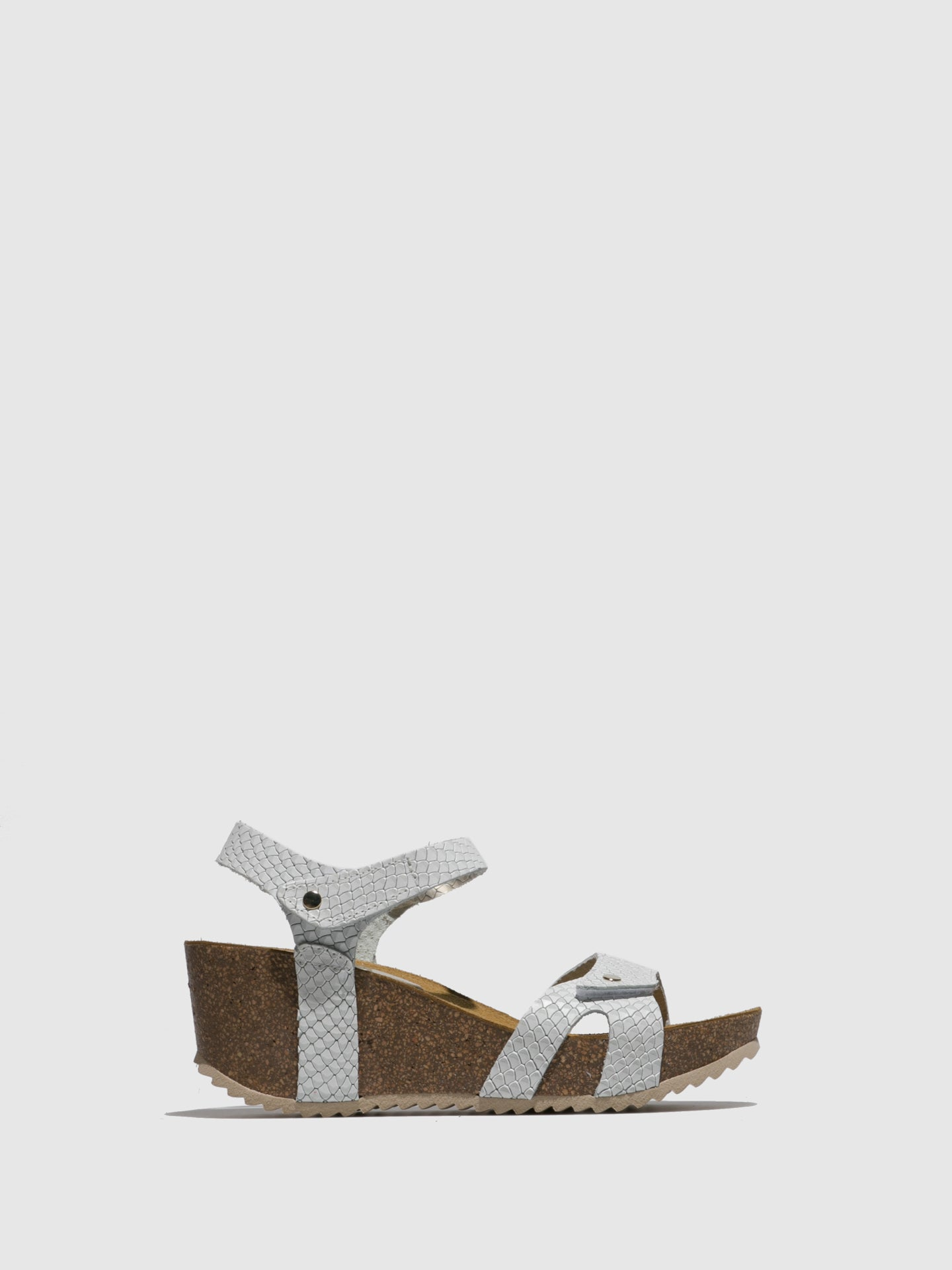Marila Shoes White Wedge Sandals