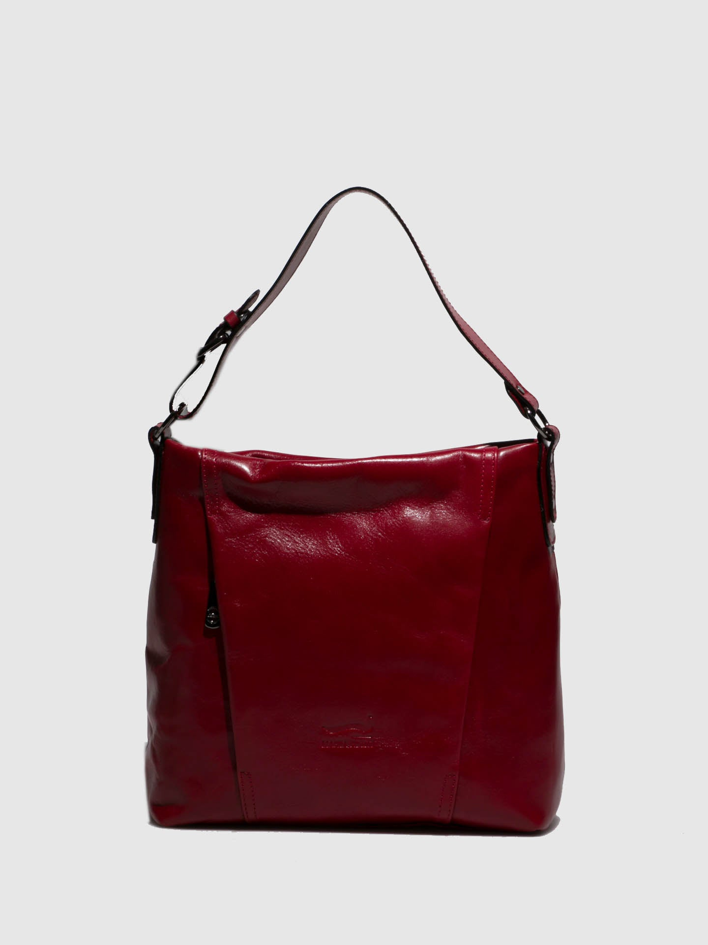 Marta Ponti Red Leather Handbag