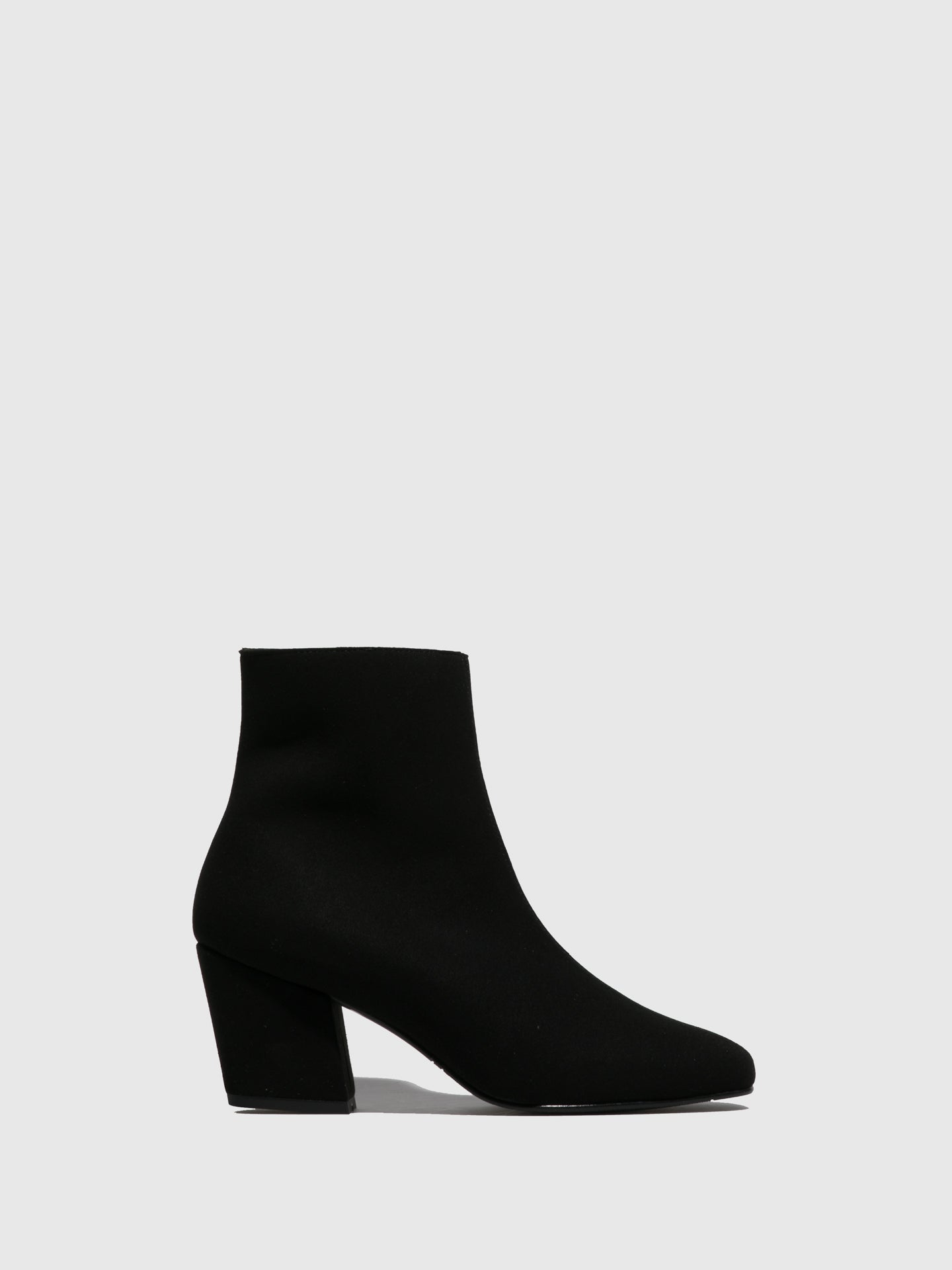 NAE Vegan Shoes Black Square Toe Boots