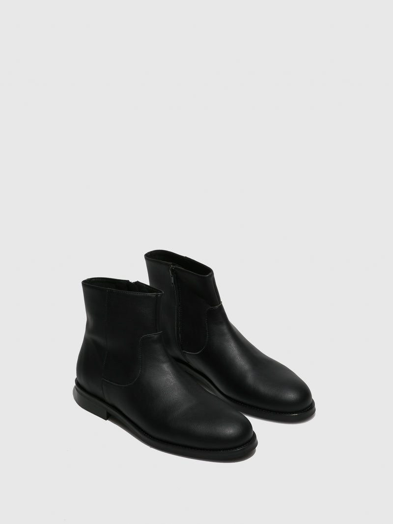 NAE Vegan Shoes Black Chelsea Boots