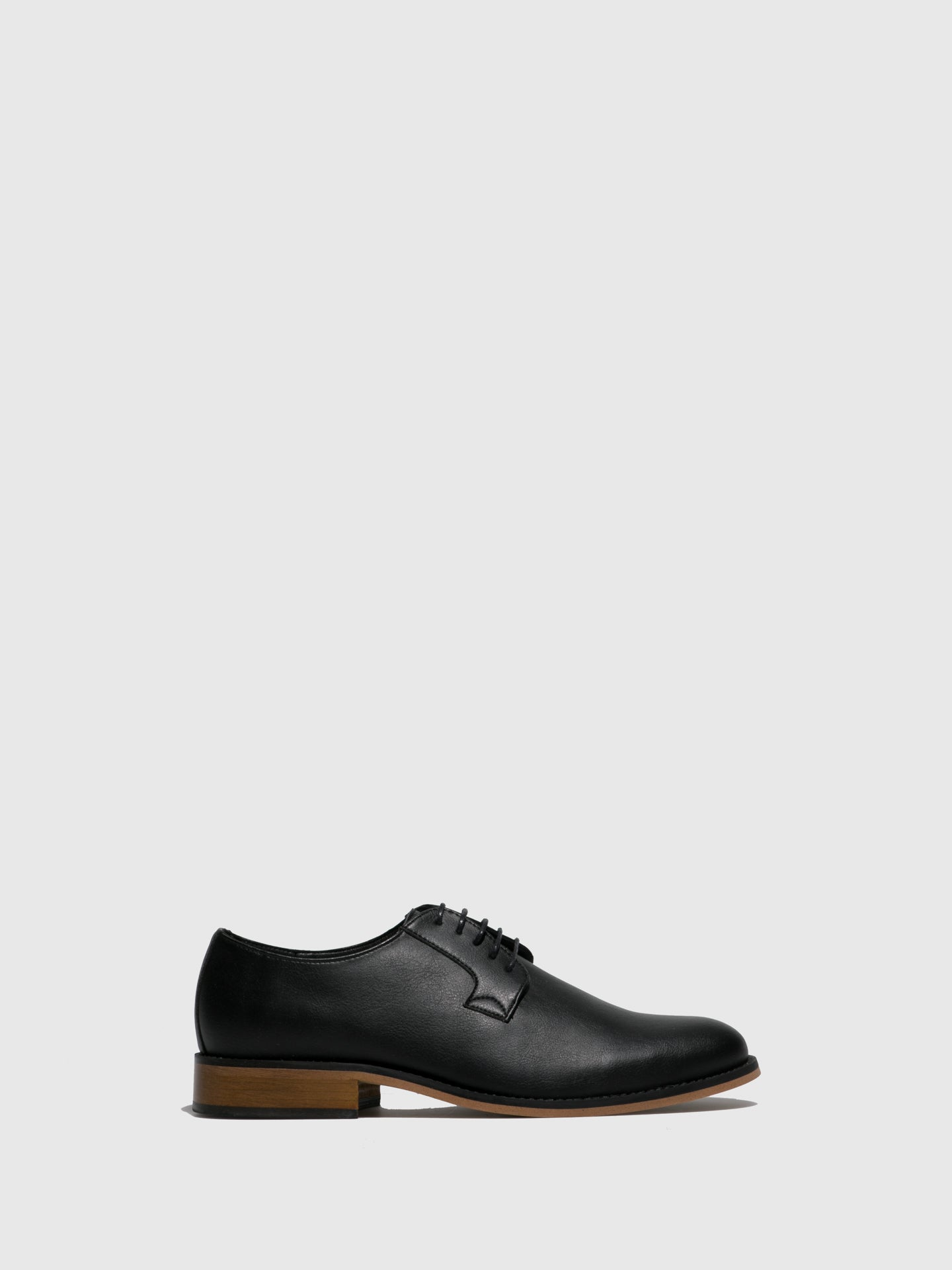 NAE Vegan Shoes Black Classic Shoes