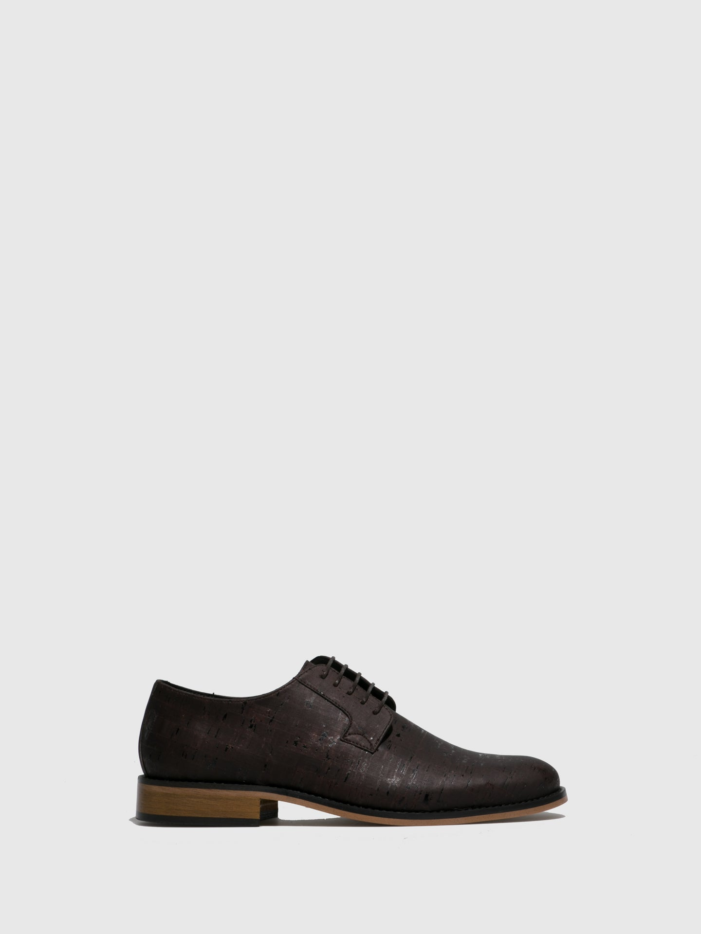 NAE Vegan Shoes Brown Classic Shoes