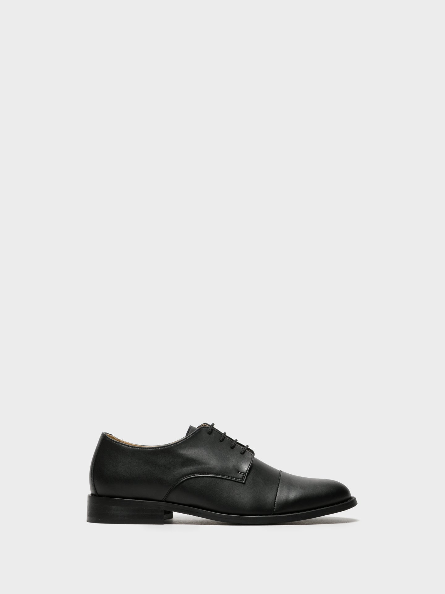 NAE Vegan Shoes Black Lace-up Shoes