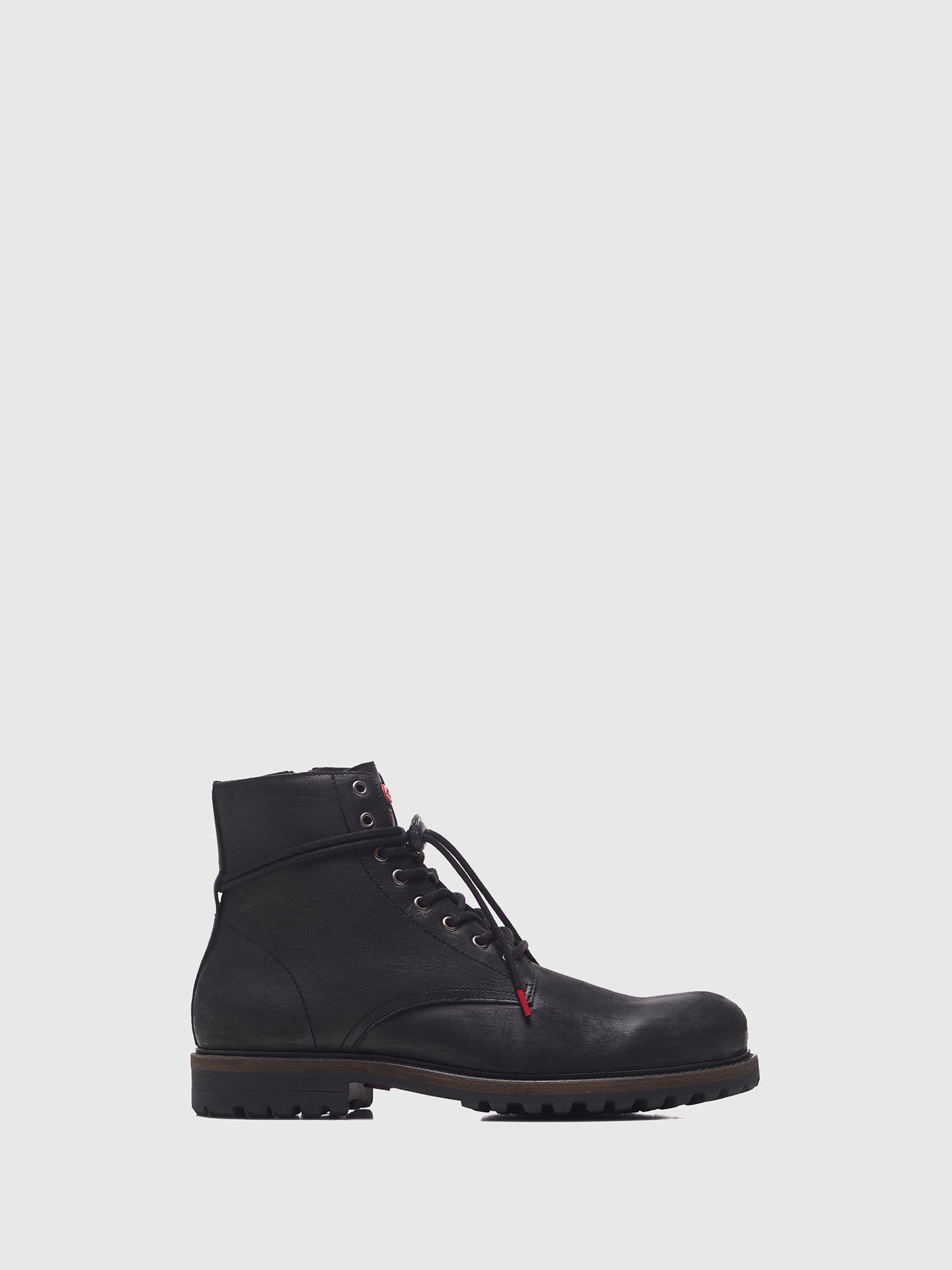 Nobrand Black Zip Up Boots