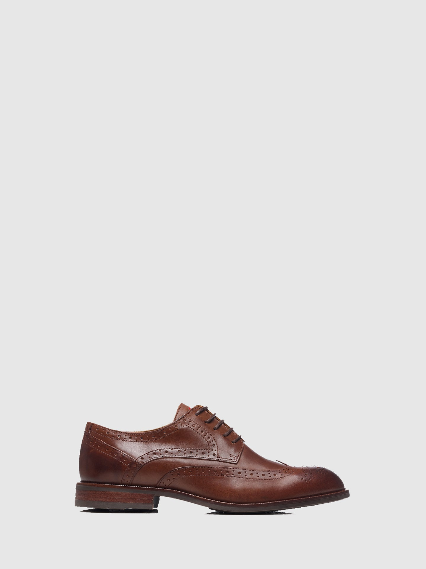 Nobrand Brown Lace-up Shoes