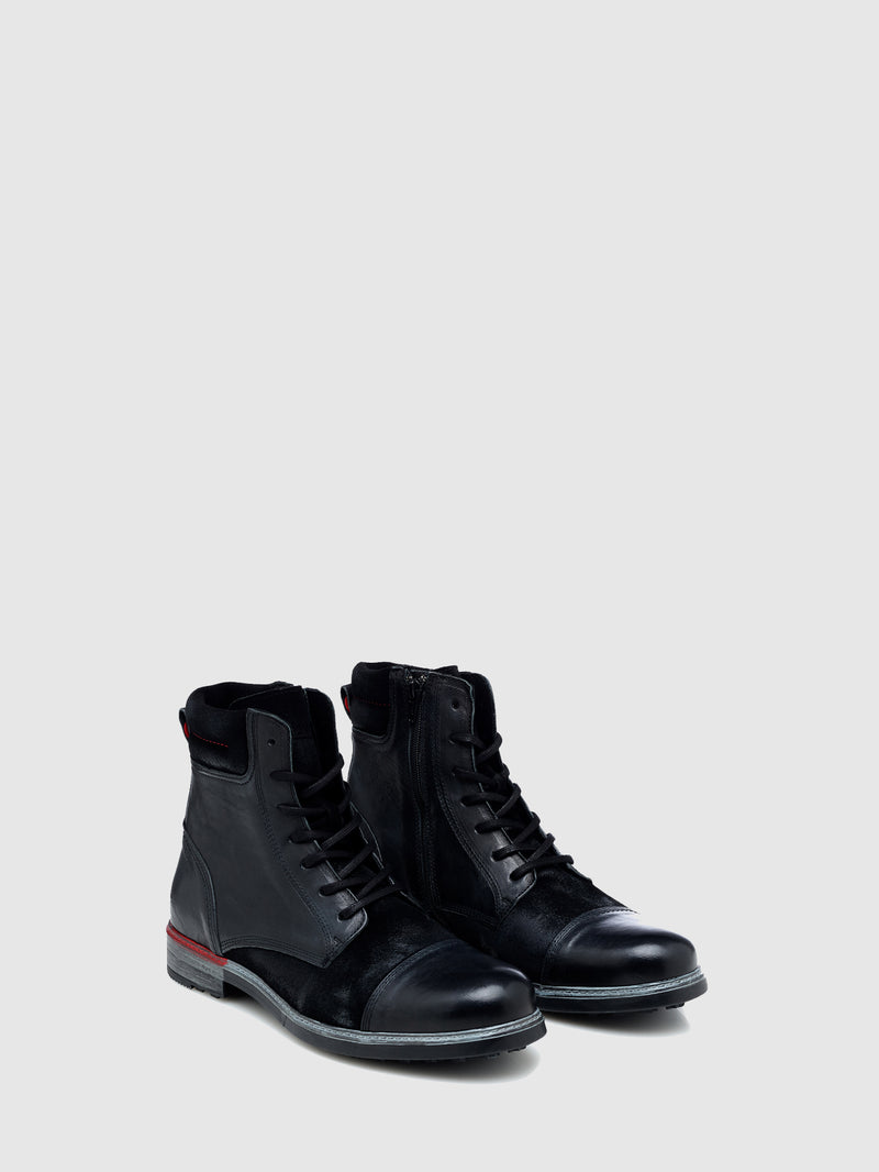 Nobrand Black Military Boots