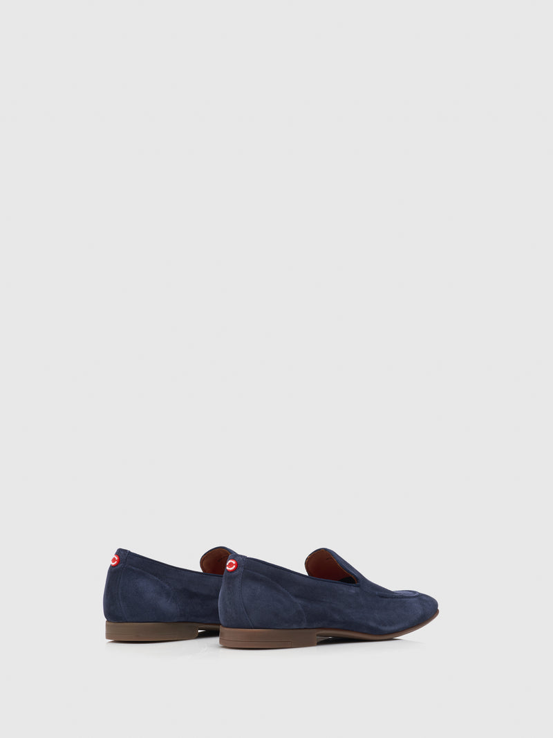 Nobrand Blue Flat Shoes