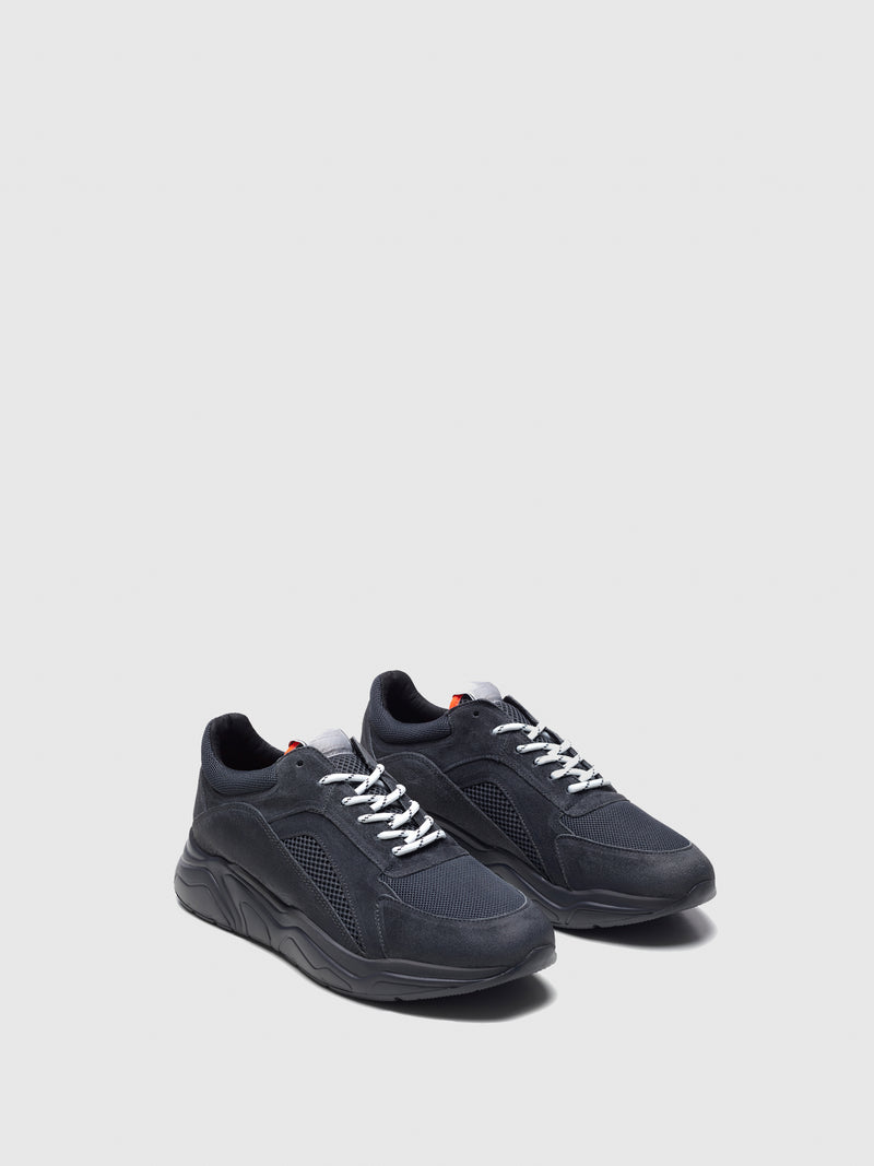 Nobrand DarkGray Lace-up Trainers