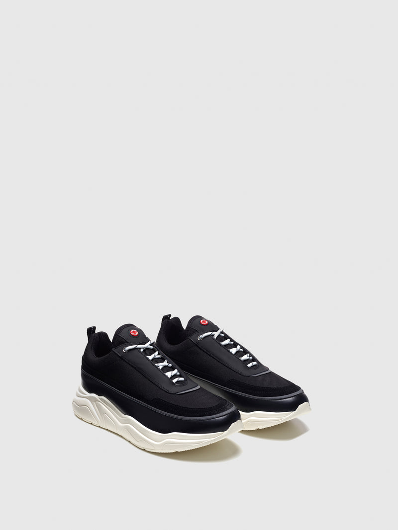 Nobrand Black Lace-up Trainers