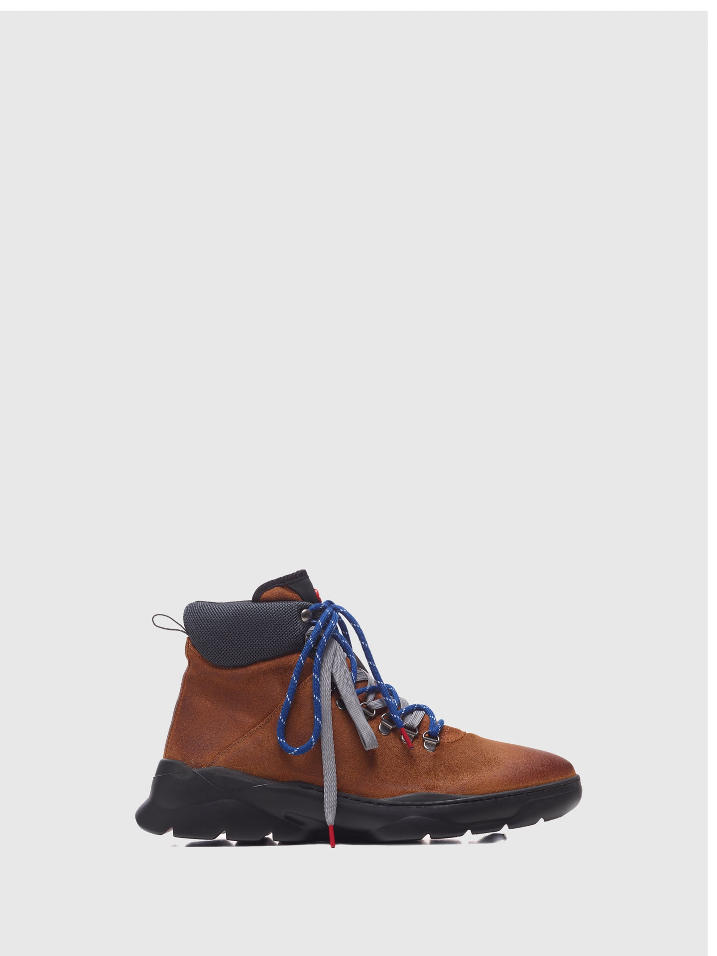 Nobrand Tan Lace-up Boots